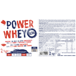 Prolabs POWER WHEY 2 kg...